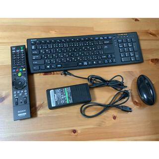 バイオ(VAIO)のソニー バイオ SONY VAIO  キーボード リモコン マウス アダプター(PC周辺機器)