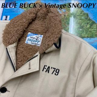 スヌーピー(SNOOPY)のBLUE BUCK SNOOPY スヌーピー N-1 フライトジャケット(フライトジャケット)