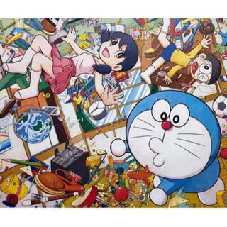 Mr.×ドラえもん新作エディションサイン入りポスター「重力ちょうせつ機」(版画)