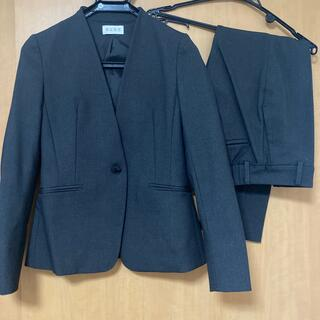 プラステ(PLST)のウォームリザーブカラーレスジャケット&スティックパンツ(スーツ)