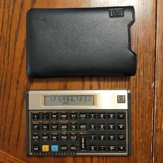 HP(ヒューレット・パッカード)金融電算機 12C