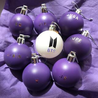 ボウダンショウネンダン(防弾少年団(BTS))のBTS オーナメント 紫(インテリア雑貨)