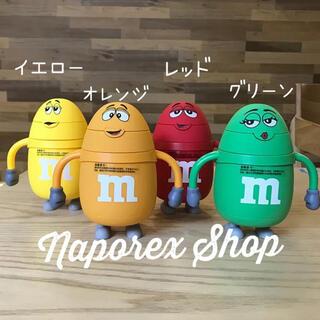 m&m's エムアンドエムズ ステンレスマグボトル 水筒  ストローマグ(水筒)