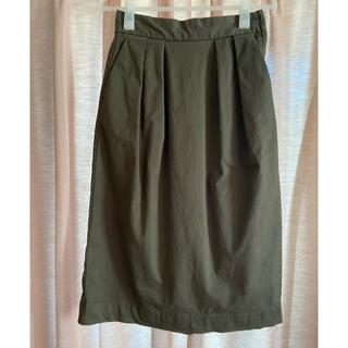 ムジルシリョウヒン(MUJI (無印良品))の無印良品 ストレッチチノイージータイトスカート(その他)
