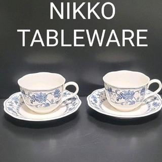 NIKKO -   NIKKO  TABLEWARE カップ&ソーサー   (葡萄柄)