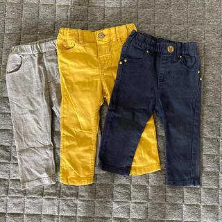 ムジルシリョウヒン(MUJI (無印良品))の80サイズ 長ズボンセット(パンツ)