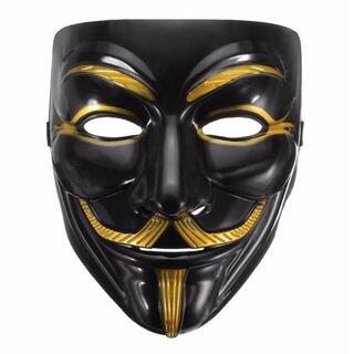 送料無料 ハロウィン☆アノニマス マスク 仮装 ガイ・フォークス 仮面 お面(小道具)