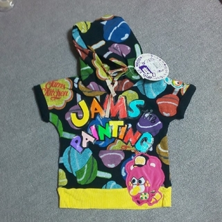 ジャム(JAM)の新品 JAM半袖パーカー  110(その他)