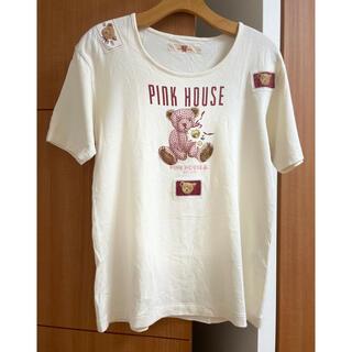 ピンクハウス(PINK HOUSE)のピンクハウス♡ギンガムくま Tシャツ(Tシャツ(半袖/袖なし))
