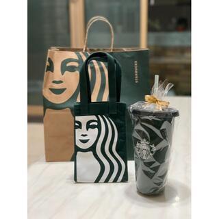 スターバックスコーヒー(Starbucks Coffee)のスターバックス 台湾サイレンの ドリンクホルダーとリュザーブルカップセット(タンブラー)