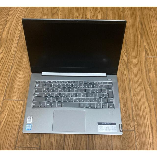 Lenovo(レノボ)のLenovo  ideapad s540  箱付き ノートパソコン 美品 スマホ/家電/カメラのPC/タブレット(ノートPC)の商品写真