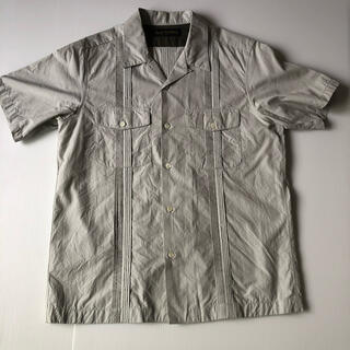 ウェストトゥワイス(Waste(twice))のWaste(twice)オープンカラーシャツ Lサイズ(シャツ)