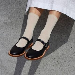 ワンエルディーケーセレクト(1LDK SELECT)のBuilding block mary jane shoes メリージェーン(ローファー/革靴)