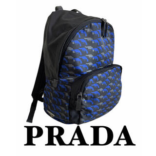 プラダ(PRADA)の【限定】PRADA プラダ リュック ピストル柄(バッグパック/リュック)