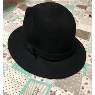 ユニクロ(UNIQLO)のフェルト形押し中折れハット 帽子(ハット)