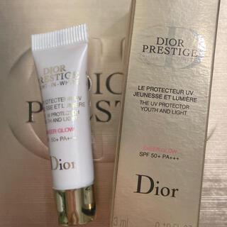 クリスチャンディオール(Christian Dior)のDior プレステージ ホワイト ル プロテクター ルミエール UV(化粧下地)