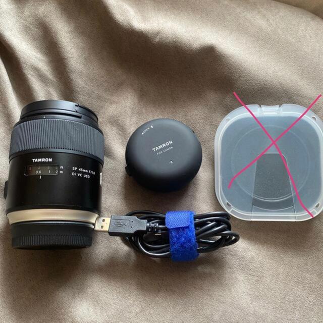TAMRON(タムロン)のキャノン用Tamron 45mm f1.8 Di VC USD 【美品】その他 スマホ/家電/カメラのカメラ(レンズ(単焦点))の商品写真