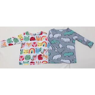 ネクスト(NEXT)のnextbabyネクストベビートップスカットソー2枚セットベビー服6-9mths(Tシャツ)