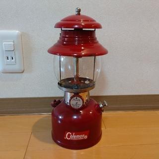 コールマン(Coleman)のコールマンColeman Lantern 200Aバーガンディ 62年1月製(ライト/ランタン)