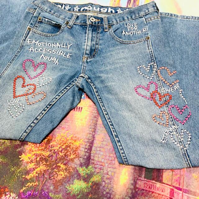 rough(ラフ)のrough ラフ ジーンズ デニム レディースのパンツ(デニム/ジーンズ)の商品写真
