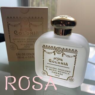サンタマリアノヴェッラ(Santa Maria Novella)の残量9割 サンタマリアノヴェッラ オーデコロン ROSA 香水 ポプリ(ユニセックス)