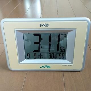 SEIKO - SEIKO PYXIS(ピクシス) 電波時計 NA502W 温度湿度表示付