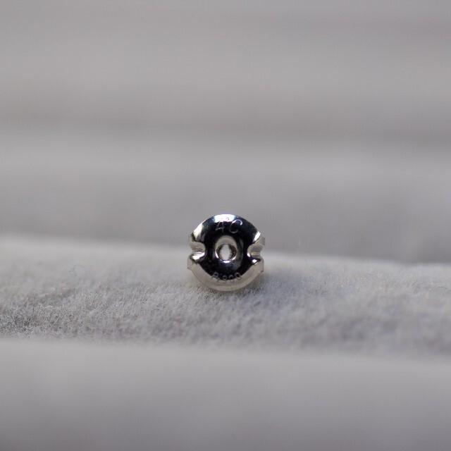 4℃(ヨンドシー)のいろはす様専用 4℃ Pt900 ダブルサークル ダイヤモンドピアス レディースのアクセサリー(ピアス)の商品写真