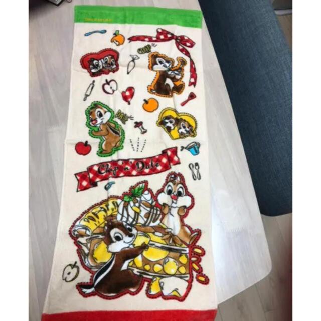 チップ&デール(チップアンドデール)のチップとデール フェイスタオル エンタメ/ホビーのおもちゃ/ぬいぐるみ(キャラクターグッズ)の商品写真