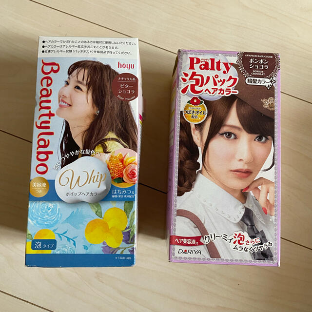 Hoyu(ホーユー)のヘアカラー剤 コスメ/美容のヘアケア/スタイリング(カラーリング剤)の商品写真