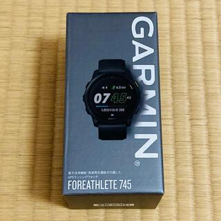 GARMIN ガーミン FORATHLETE フォーアスリート745 ブラック (ランニング/ジョギング)
