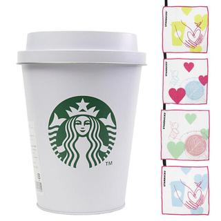 スターバックスコーヒー(Starbucks Coffee)のスターバックス★ビッグペーパーカップ&カフェクロスセット★新品未使用(収納/キッチン雑貨)