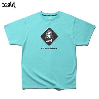 エフシーアールビー(F.C.R.B.)のLサイズ X-girl SUPPORTER TEE Tシャツ(Tシャツ/カットソー(半袖/袖なし))