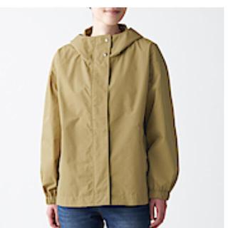 ムジルシリョウヒン(MUJI (無印良品))の【そう様専用】無印良品 撥水フードジャケット&デニムタックシャツ(ブルゾン)