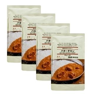 MUJI (無印良品) - 無印良品 バターチキンカレー 4個