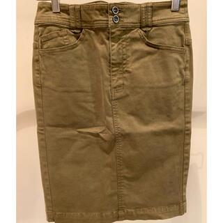 ダブルスタンダードクロージング(DOUBLE STANDARD CLOTHING)のダブルスタンダードクロージング デニムスカート タイトスカート(ひざ丈スカート)