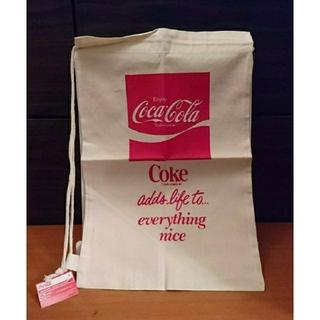 コカコーラ(コカ・コーラ)の【コカ・コーラ】コットン 巾着(バッグパック/リュック)