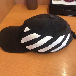 オフホワイト(OFF-WHITE)のoffーwhile帽子(キャップ)