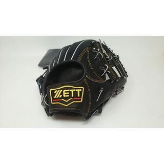 ゼット(ZETT)のゼット プロステイタス軟式グローブ 内野手 BRGB30060 ブラック(グローブ)