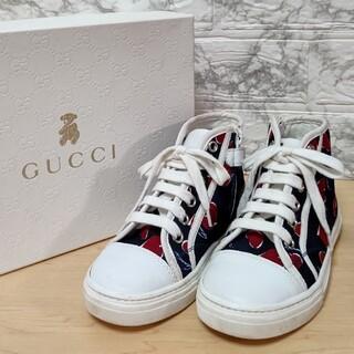 Gucci - GUCCI ハイカットスニーカー 28