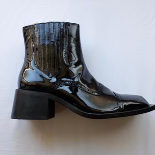 ジョンローレンスサリバン(JOHN LAWRENCE SULLIVAN)のmartine rose スクエアトゥ ブーツ(ブーツ)