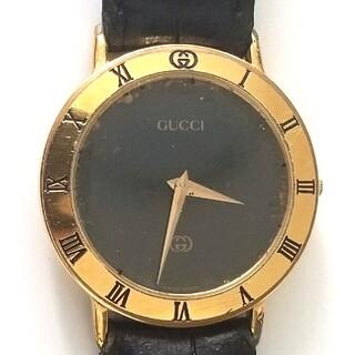 Gucci - GUCCI グッチ 3000M メンズ クォーツ 2針 腕時計 稼働品