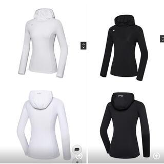 デサント(DESCENTE)のDESCENTEレディース 韓国21FW起毛シャツ新品、正規品、タグ付き(ウエア)