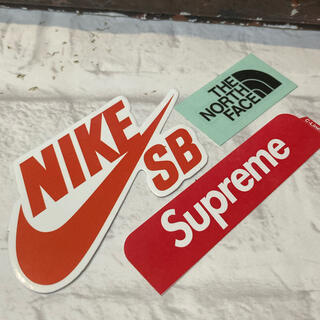 シュプリーム(Supreme)のsup & NIKE & TNF Sticker set ⬜︎ #snt5(その他)