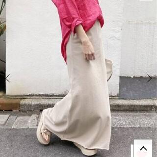 フレームワーク(FRAMeWORK)の新品 フレームワーク 2021 ミニ裏毛スカート マキシ  スカート ロング(ロングスカート)