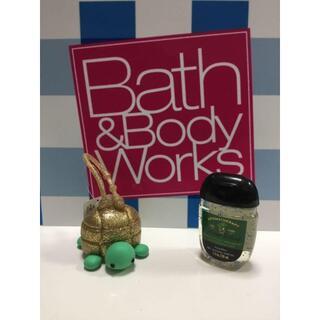 バスアンドボディーワークス(Bath & Body Works)の新品 Bath & Body Works ハンドジェルカバー 亀さん(チャーム)