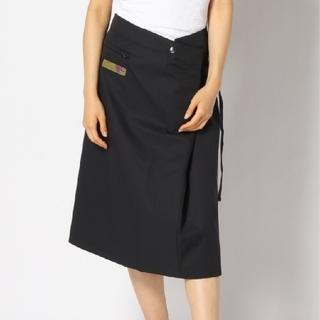 アディダス(adidas)の★新品タグ付き★adidas アディダス プレミアムスカート ブラック Mサイズ(ひざ丈スカート)