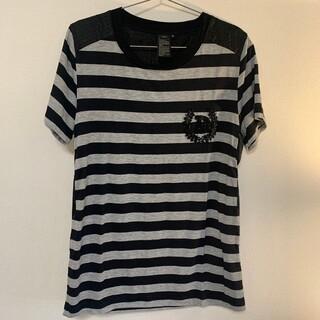 ダブルスタンダードクロージング(DOUBLE STANDARD CLOTHING)の【ダブルスタンダード!】ボーダーカットソー(Tシャツ/カットソー(半袖/袖なし))
