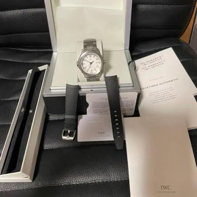 IWC(インターナショナルウォッチカンパニー)のIWC アクアタイマー メンズの時計(腕時計(アナログ))の商品写真