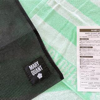マリークワント(MARY QUANT)のMARY QUANT  ノベルティメッシュバッグ&タオルセット(タオル/バス用品)
