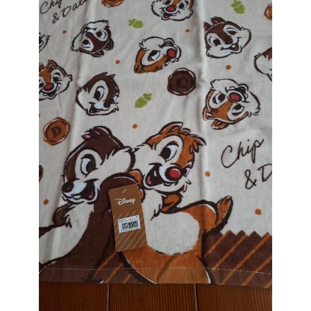 チップ&デール(チップアンドデール)のディズニー チップ&デール バスタオル  エンタメ/ホビーのおもちゃ/ぬいぐるみ(キャラクターグッズ)の商品写真